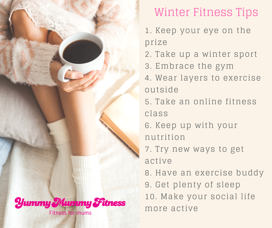 Tips For Keeping Fit & Healthy In Winter